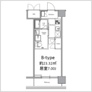 Btypeエルプレイス東三国<家具付き賃貸>